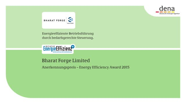 DENA Energy Efficiency Award 2015: Complimentary Prize